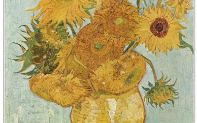 Schilderproject zonnebloemen van Vincent van Gogh