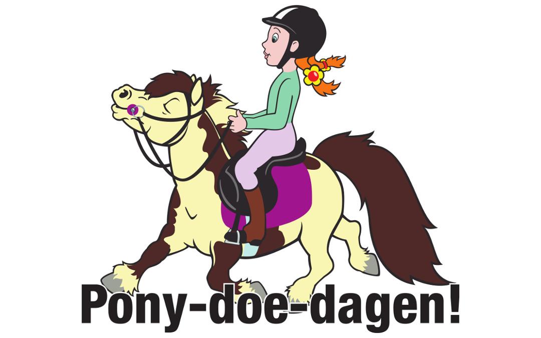In augustus beginnen we met de pony-doe-dagen voor kids
